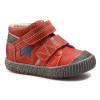 Shoes Boy Mid boots Catimini RADIS Vte / Red-marine / Dch / Linux