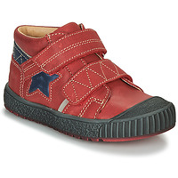 Shoes Boy Mid boots Catimini RADIS Vte / Red-marine / Dpf / Linux