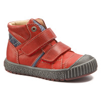 Shoes Boy High top trainers Catimini RAIFORT Vte / Red-marine / Dch / Linux