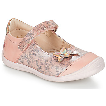 Shoes Girl Ballerinas GBB SACHIKO Vtv / Rose-printed / Dpf