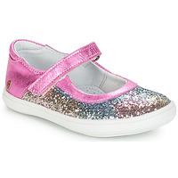 Shoes Girl Ballerinas GBB PLACIDA Pink / Multicolour / Dpf / Cuba