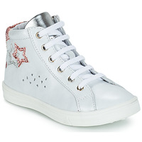 Shoes Girl High top trainers GBB SERAPHINE White