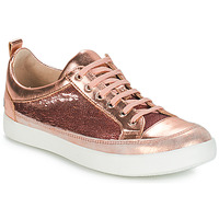 Shoes Girl Boots GBB ISIDORA Vts / Rose-gold / Dpf / 2706
