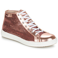 Shoes Girl Mid boots GBB IMELDA Rose-gold / Dpf / 2835