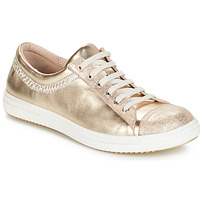 Shoes Girl Mid boots GBB GINA Vte / Beige or / Dpf / 2835