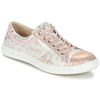 Shoes Girl Mid boots GBB GINA Pink