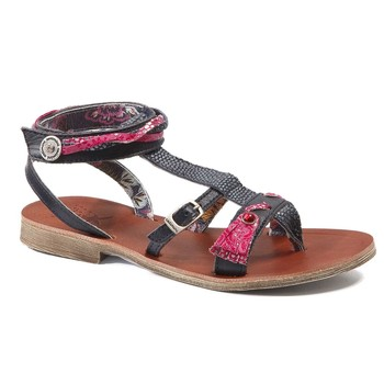 Shoes Girl Sandals Catimini SABRALIA Vte / Marine-fushia / Dpf / Coca