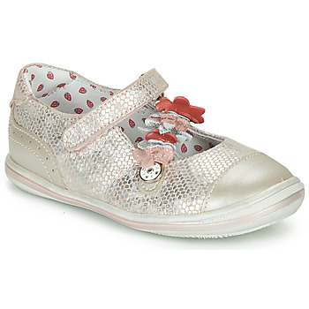Shoes Girl Ballerinas Catimini STROPHAIRE Pink