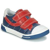 Shoes Boy Mid boots Catimini SORBIER Vte / Marine / Dpf / Snow