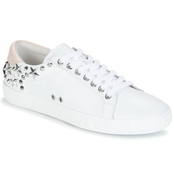Shoes Women Low top trainers Ash DAZED White / Pink