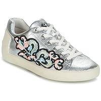 Shoes Women Low top trainers Ash NAK BIS Silver