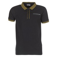 material Men short-sleeved polo shirts Yurban IMARTINGO Black