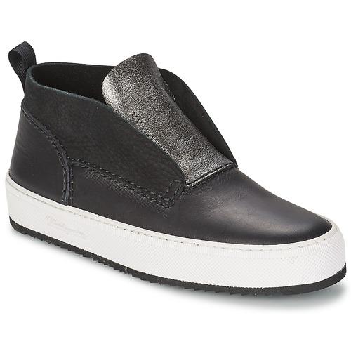 Shoes Women High top trainers Barleycorn CLASSIC Black