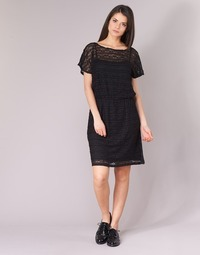 material Women Short Dresses Esprit AXERTA Black