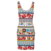 material Women Short Dresses Desigual OCONDE Multicoloured