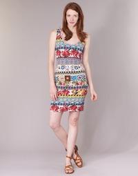 material Women Short Dresses Desigual OCONDE Multicoloured