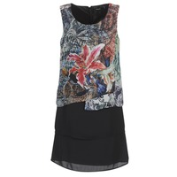 material Women Short Dresses Desigual OULKE Multicoloured