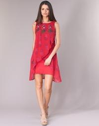 material Women Short Dresses Desigual DORIJE Red