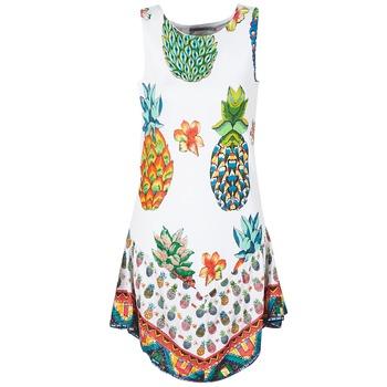 material Women Short Dresses Desigual HOQLER White
