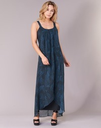 material Women Long Dresses Desigual PAOLEPA Blue