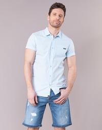 material Men short-sleeved shirts Kaporal LOGIK Blue