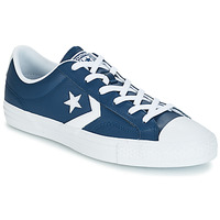 Shoes Low top trainers Converse Star Player Ox Leather Essentials Marine