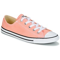 Shoes Women Low top trainers Converse Chuck Taylor All Star Dainty Ox Canvas Color Pink