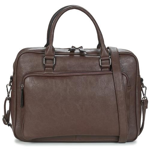 Bags Men Briefcases Casual Attitude ADIANA Brown