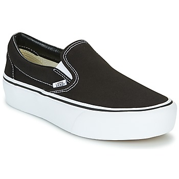 Shoes Women Slip ons Vans SLIP-ON PLATFORM Black