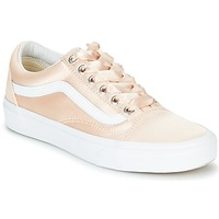 Shoes Women Low top trainers Vans OLD SKOOL Pink / Satin