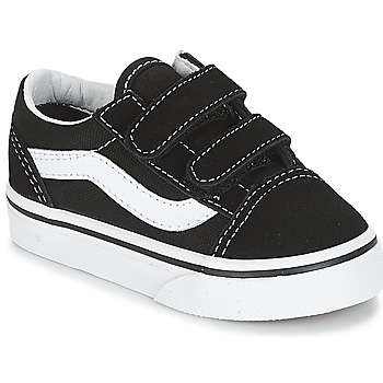 Shoes Children Low top trainers Vans OLD SKOOL V Black