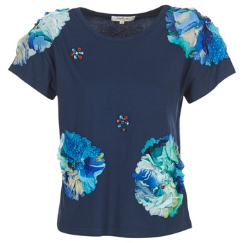 material Women short-sleeved t-shirts Derhy BANGKOK Blue