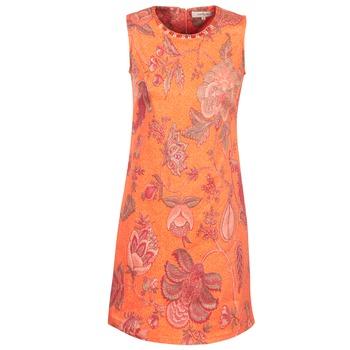 material Women Short Dresses Derhy ANTILLAIGAN Orange
