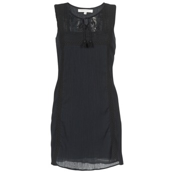 material Women Short Dresses Banana Moon ELEANOR MAKENNA Black
