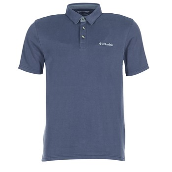 material Men short-sleeved polo shirts Columbia NELSON POINT POLO Marine