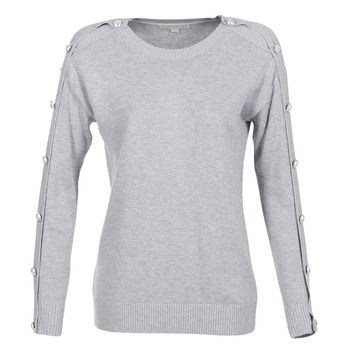 material Women jumpers MICHAEL Michael Kors GEM BUTTON SWTR Grey