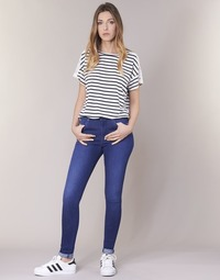 material Women Skinny jeans Pepe jeans REGENT Blue / Ce2 / Christals / Swarorsky