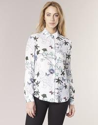 material Women Shirts Tommy Hilfiger MIRAN-SHIRT-LS White