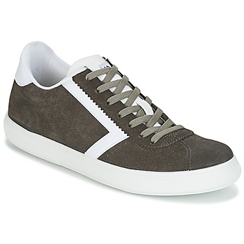 Shoes Men Low top trainers Yurban RETIPUS Grey / Kaki
