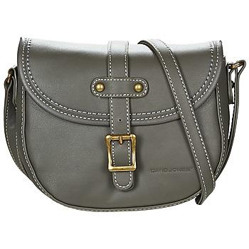 Bags Women Shoulder bags David Jones  Grey