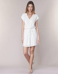 material Women Short Dresses Le Temps des Cerises FORKATON White