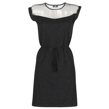 material Women Short Dresses Le Temps des Cerises JURIETO Black