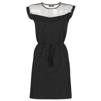 material Women Short Dresses Le Temps des Cerises JURIETO Black