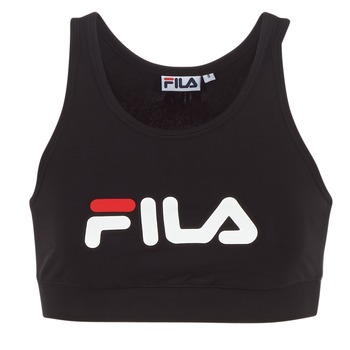 material Women short-sleeved t-shirts Fila OTHER CROP TOP Black