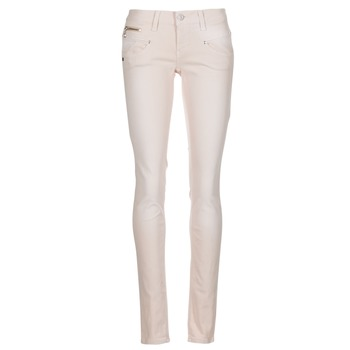 material Women 5-pocket trousers Freeman T.Porter ALEXA SLIM MAGIC COLOR Pink