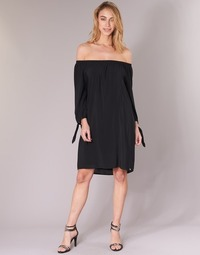 material Women Short Dresses LPB Woman ARIN Black