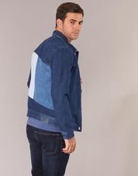 material Men Denim jackets Tommy Jeans TJM STREET TRUCKER JKT Blue / Medium