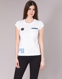 material Women short-sleeved t-shirts Philipp Plein Sport SITTIN OVER HERE White