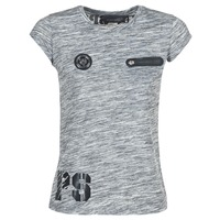 material Women short-sleeved t-shirts Philipp Plein Sport SITTIN OVER HERE Grey