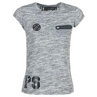 material Women short-sleeved t-shirts Philipp Plein Sport SITTIN OVER HERE Grey